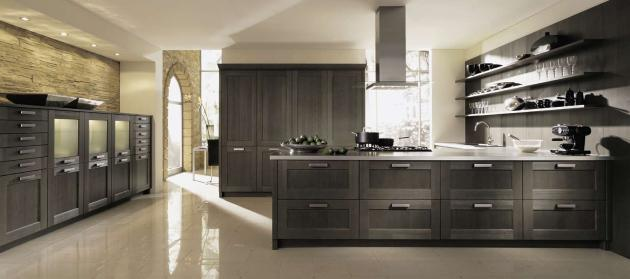 Kitchen Cabinets Dark Wood