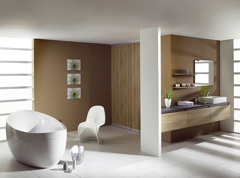 Modern bathroom designs from schmidt for Sophisticated bathroom design