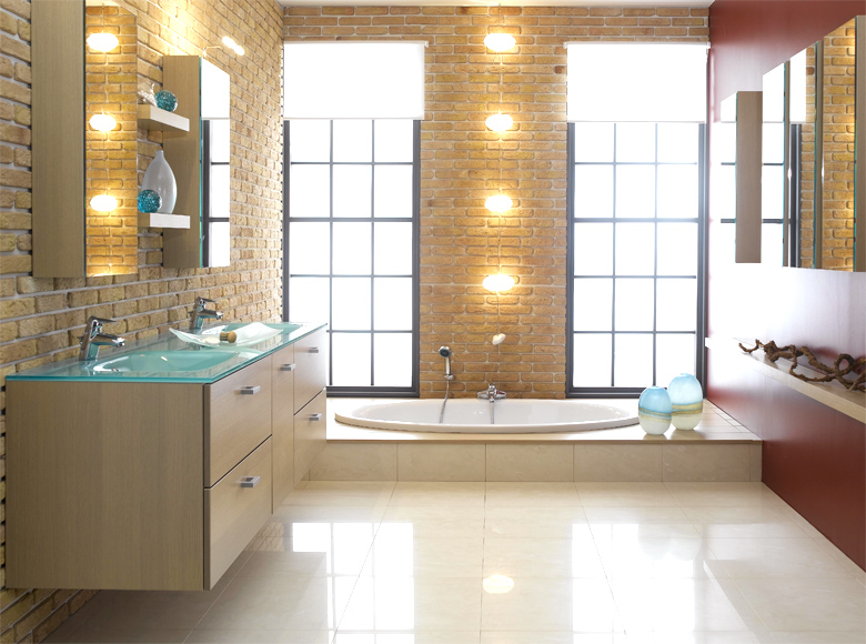 Modern bathroom designs from schmidt for Contemporary bathroom design
