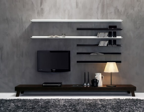 Popular Modern Wall Units From Momentoitalia