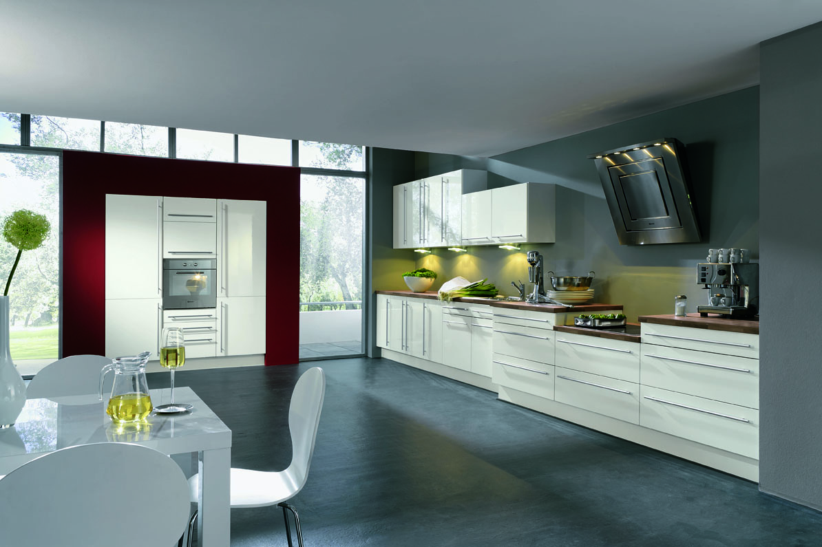 Line Design Ideas : Small kitchen design single wall afreakatheart
