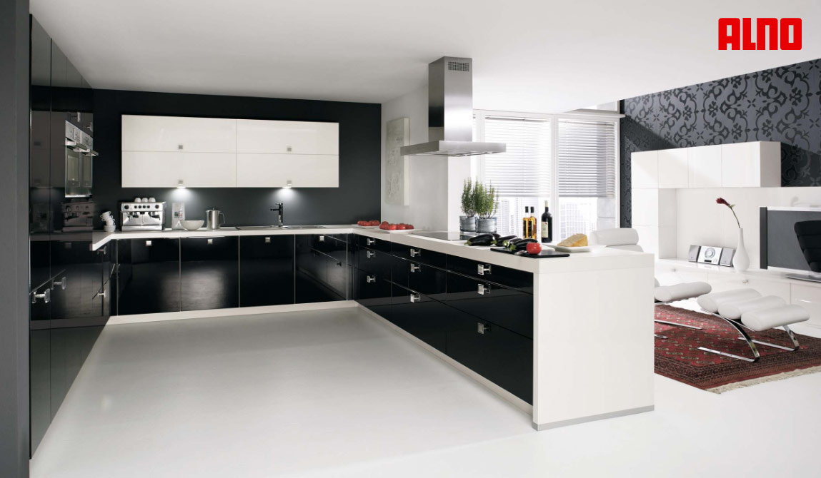 The kitchen is suitable for any modern form types of space for Modern u shaped kitchen designs