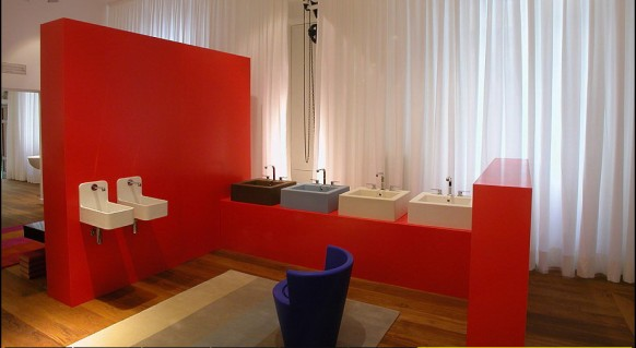 colourful bathrooms