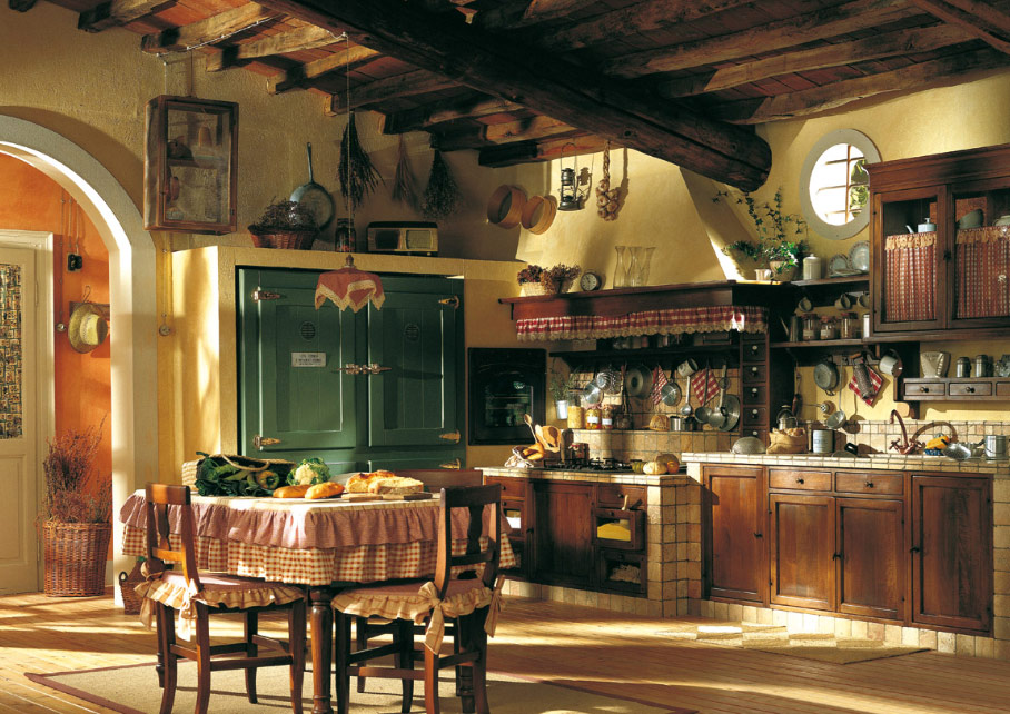 Old town and country style kitchen pictures - Country style kitchens ...