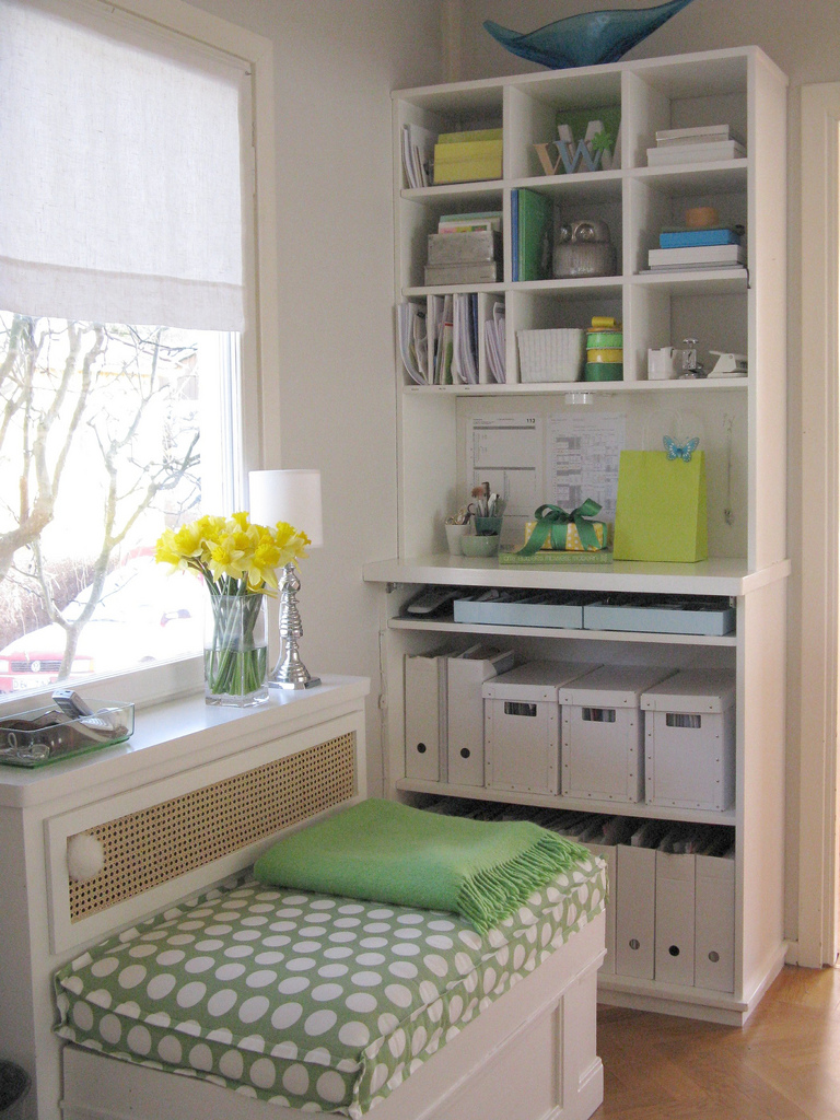 How do i organize my new office stacy nance interiors for Room organization