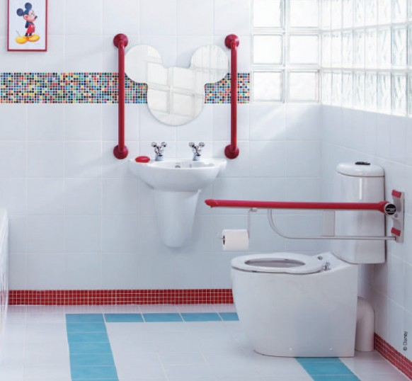 sleek design luxury kids bathroom