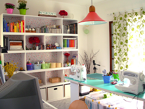 Sewing Craft Room Design Ideas 500 x 375