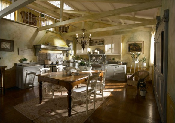 Traditional Country Kitchen