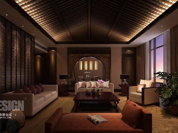 Luxury Oriental Interior Design