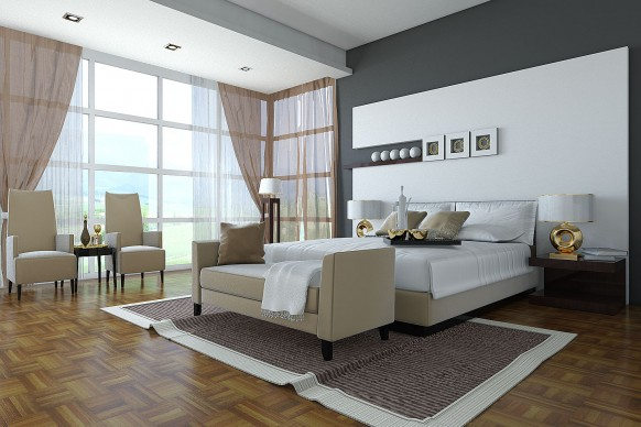 Best 10 Beautiful Bedroom Designs 2010