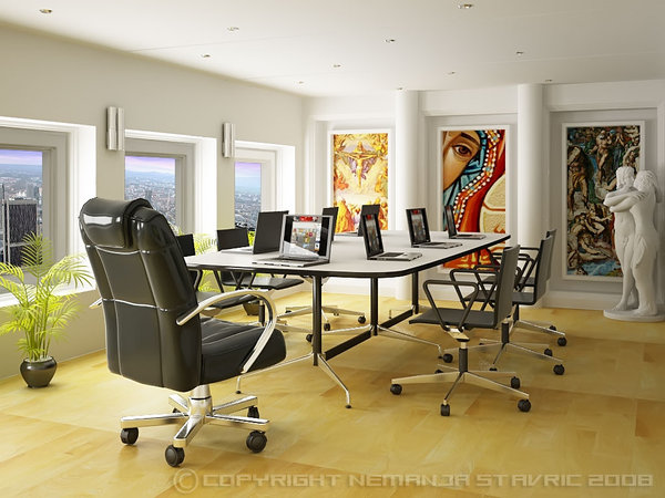 Office meeting room designs for Office design japanese