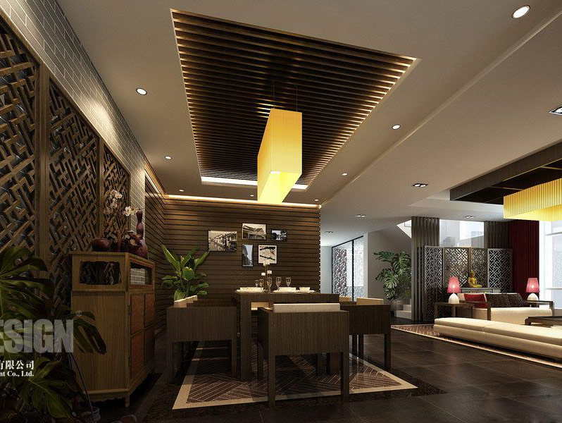 Chinese japanese and other oriental interior design - Modern chinese house design ...