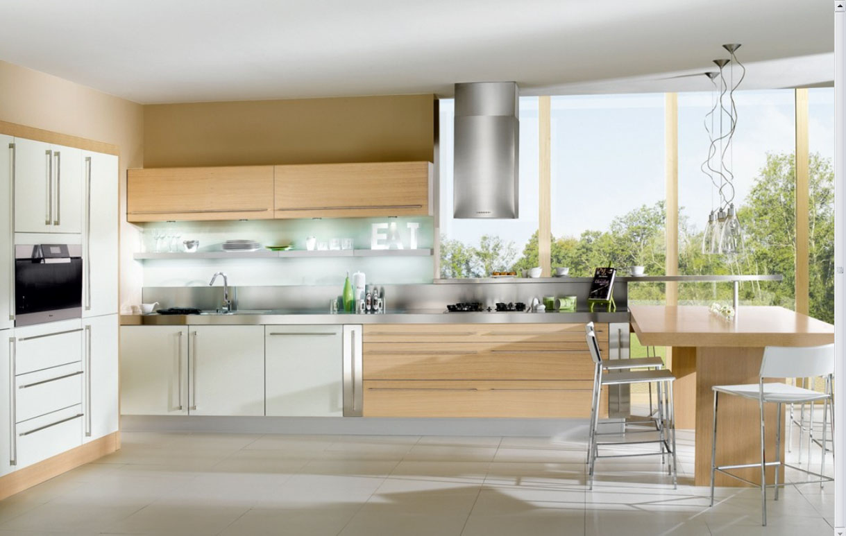 Beautiful French Scenic Fresh Kitchens