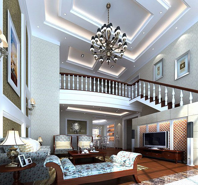 Chinese japanese and other oriental interior design House model interior design