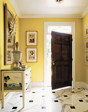 Foyer Design, Decorating Tips and Pictures