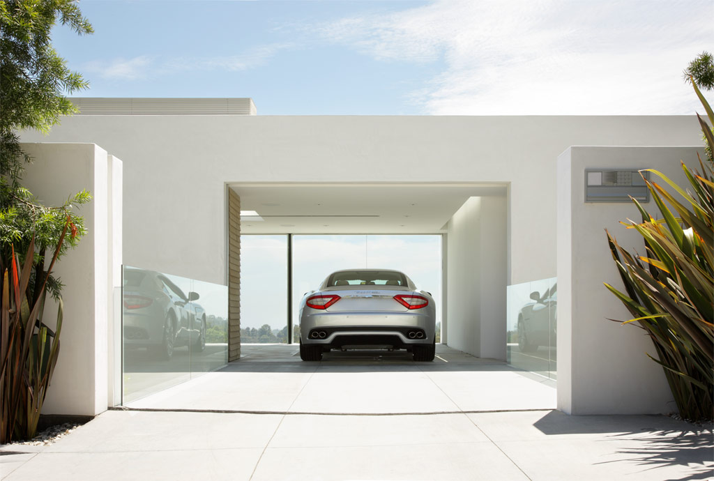 Garage design contest by maserati for Car garage design