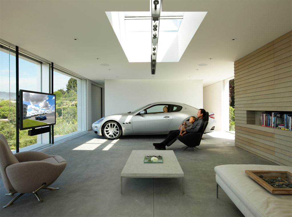 Luxury interior wallpapers garage interior designs for Garage home designs