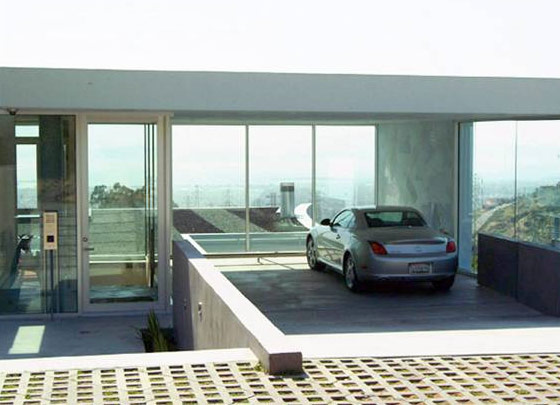 Garage design contest by maserati for House on top of garage