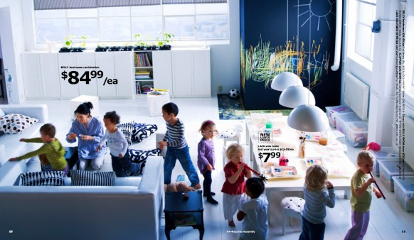 ikea living room kids