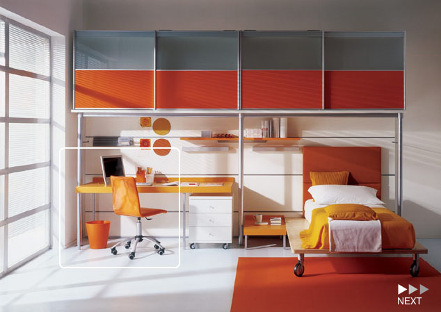 Kids bedroom for Bookcases for kids room