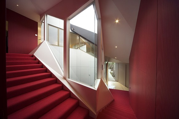 klein bottle house stairs
