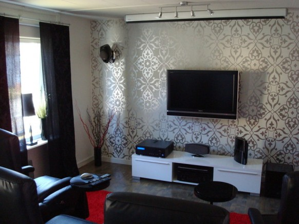 ������ ������ ���� ����� ������ living-room-tv-setup