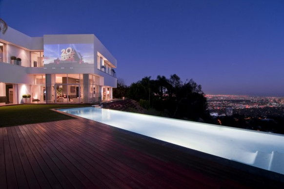 Design interior design modern spectacular home in hollywood for Spectacular home designs