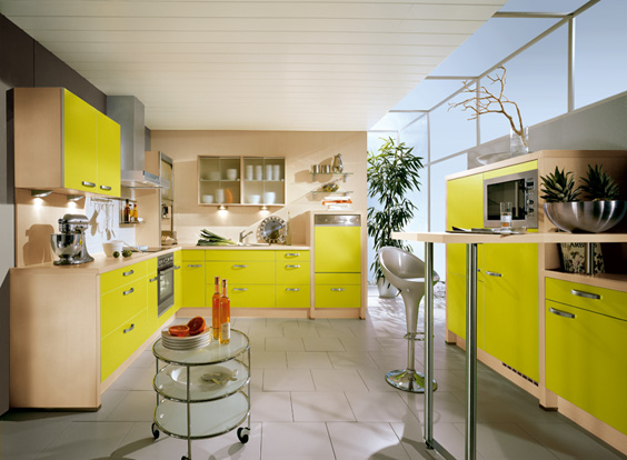 Bobilia Yellow Kitchen