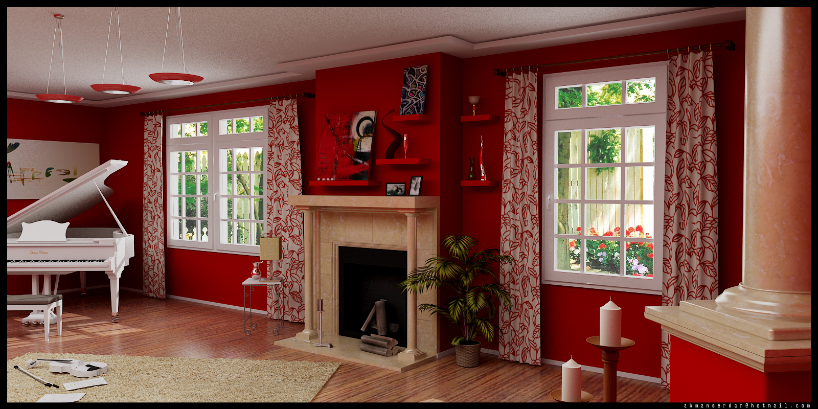 Red And White Living Room Decorating Wall Art Decorating Ideas Interior Living Rooms In Red
