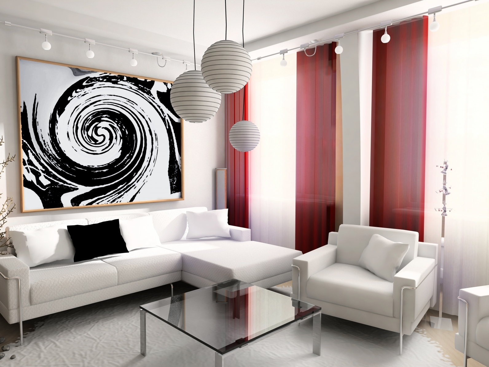 Remarkable White Living Room 1592 x 1194 · 630 kB · jpeg