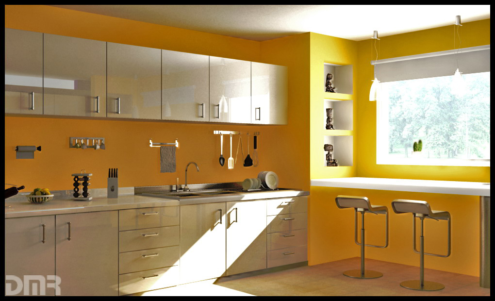 Kitchen wall color ideas kitchen colors luxury house design - Kitchen style for small space paint ...