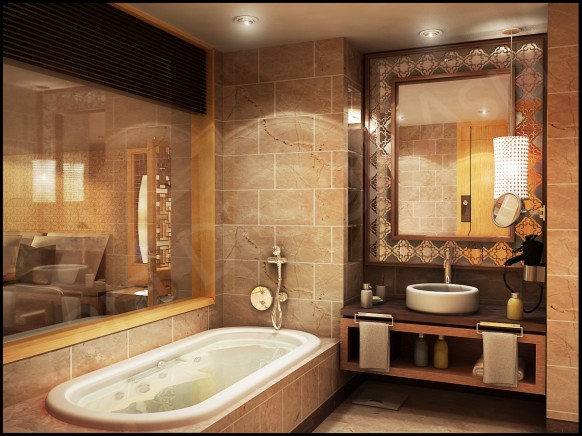 amazing bathroom