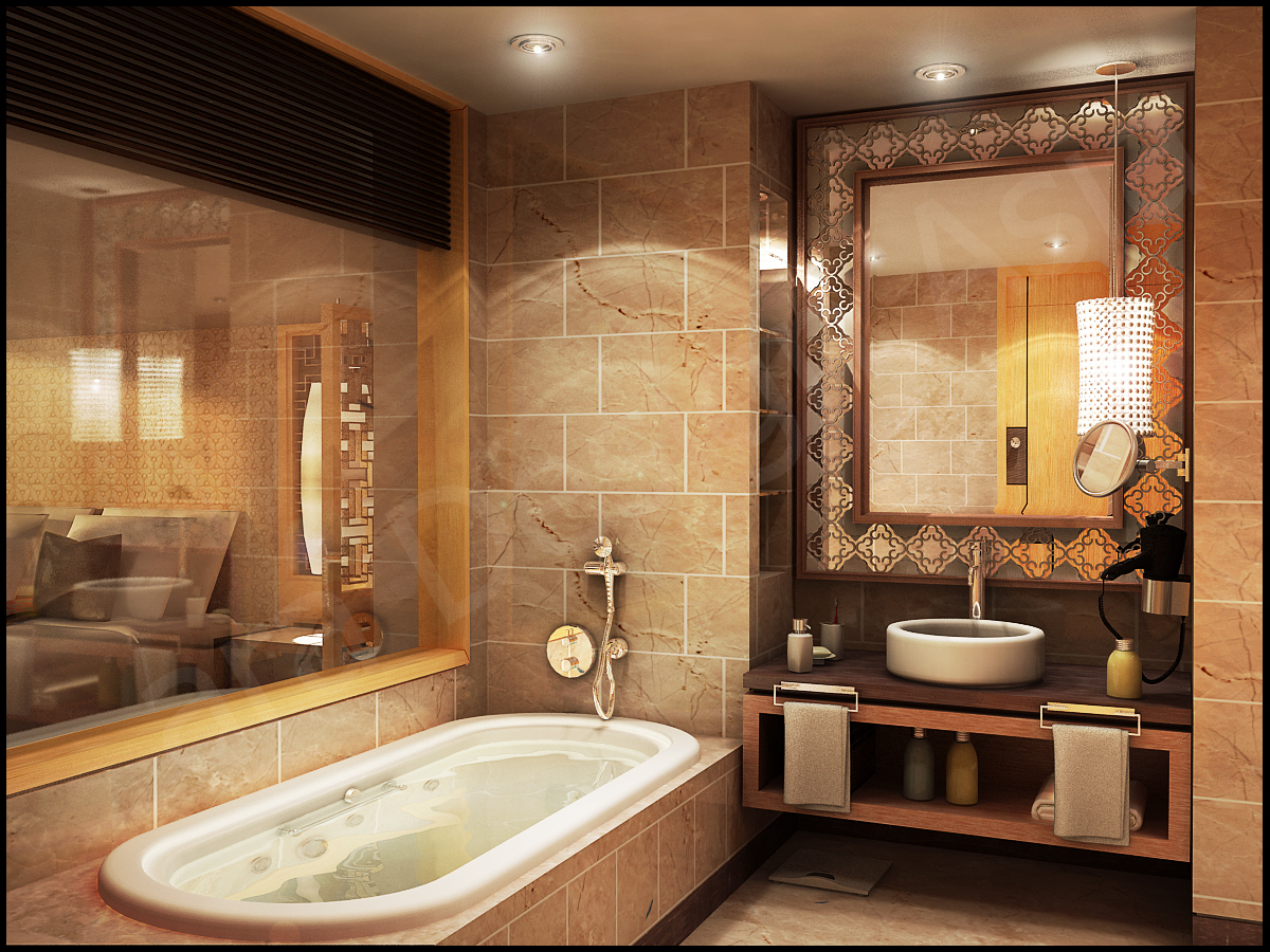 Inspirational bathrooms for Design of the bathroom