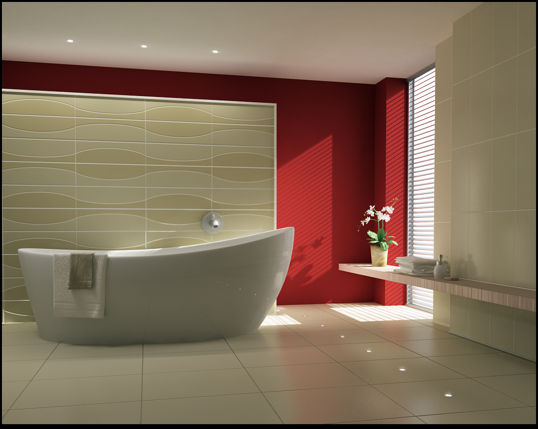 Inspirational bathrooms for Bathroom decoration items