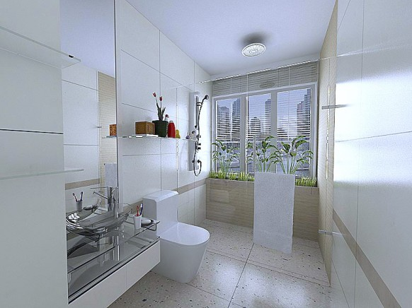 bathroom design ideas Luxury inspirational white  Bathroom interior design   By Jerry
