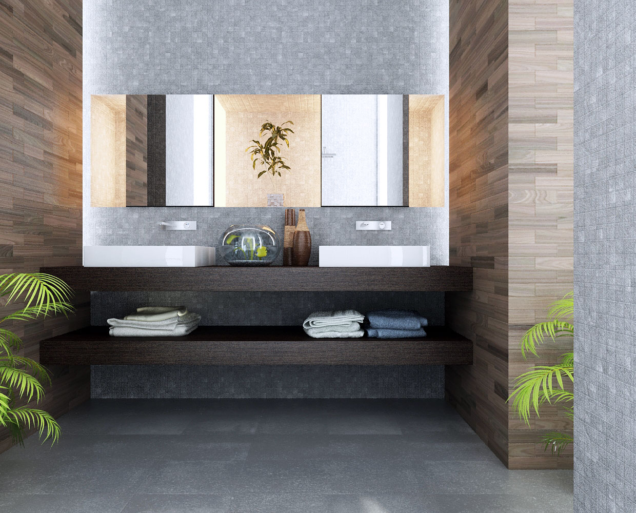 Modern Bathroom Design Ideas-home-designing.com