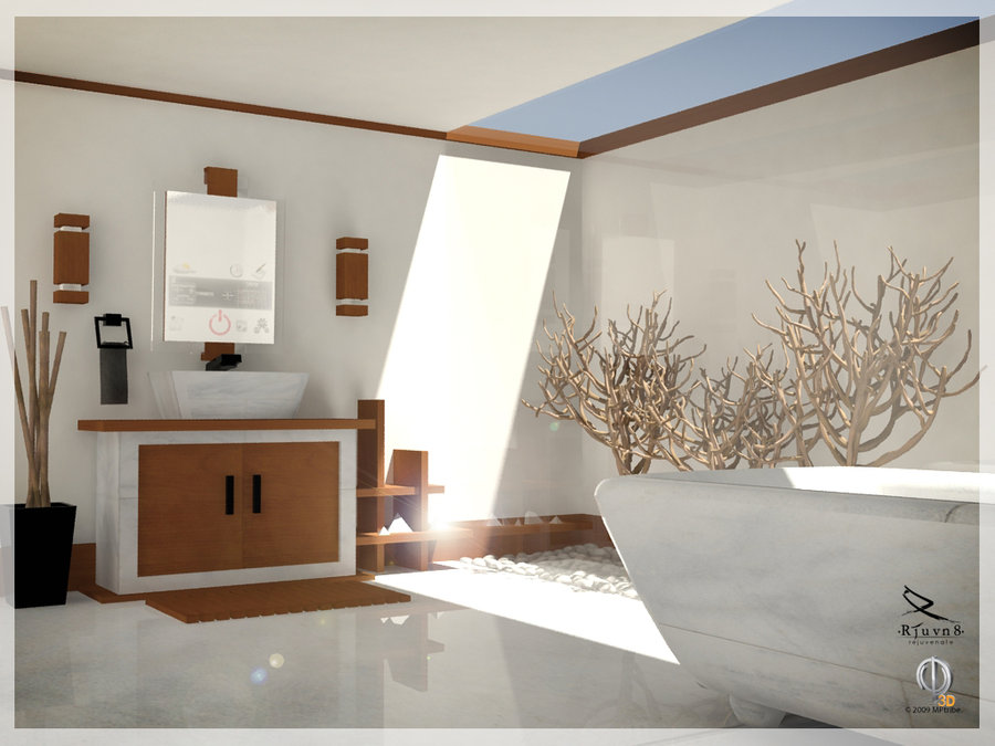 Inspirational bathrooms for Bathroom decor inspiration