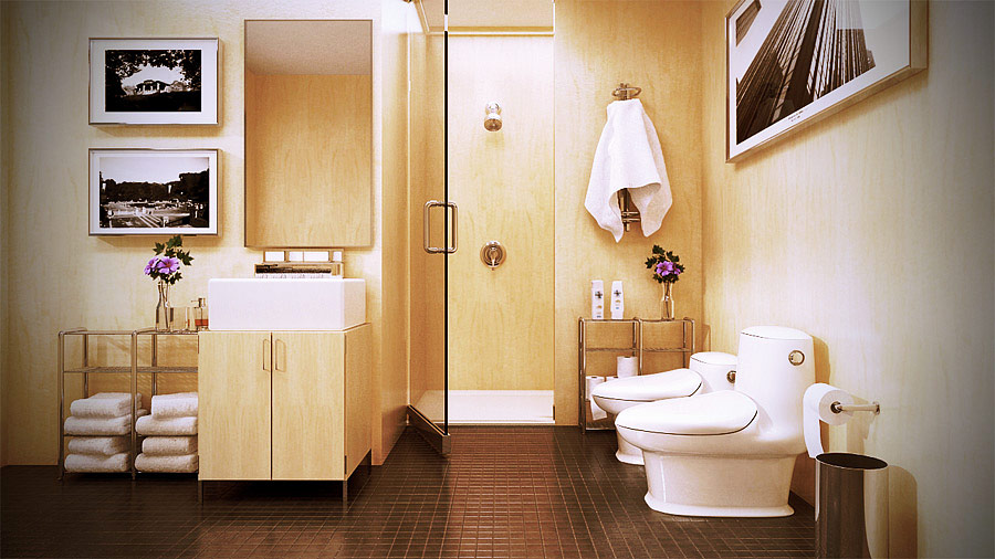 Inspirational bathrooms for Beautiful bathrooms