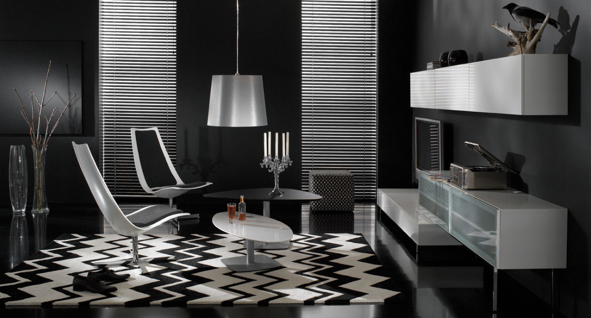 Great Black and White Living Room Designs 1220 x 656 · 180 kB · jpeg