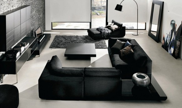 Contemporary Living Room Furniture | Home Interior Design