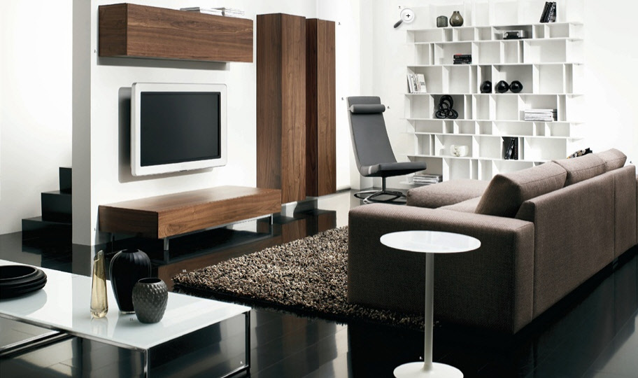 Contemporary living room furniture home design scrappy for Modern furniture designs for living room