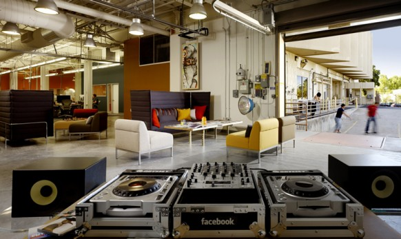 facebook office lounge
