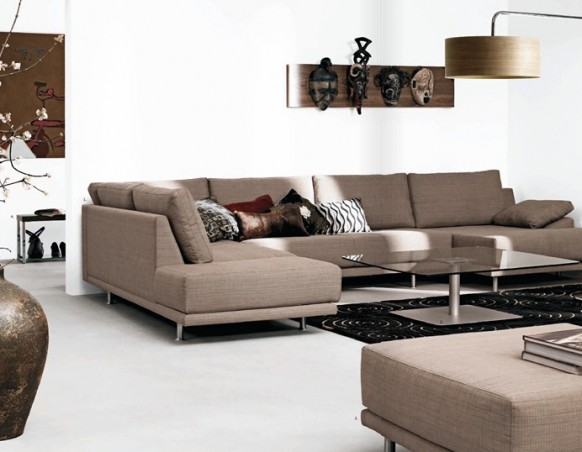 Contemporary Living Room Furniture Designs Ideas