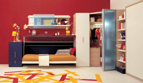 Teen Bedrooms Designs With Small Space Colection 1