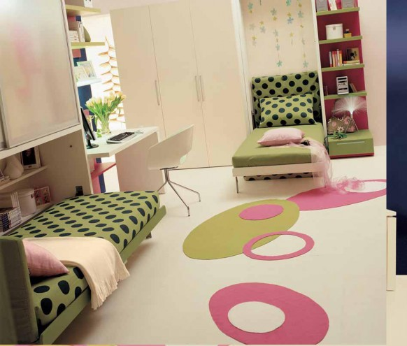 Teen Bedrooms Designs With Small Space Colection 3