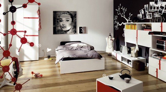 Teen Bedrooms Designs Trend