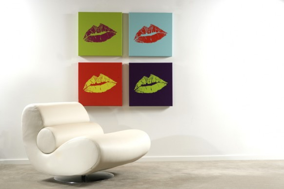 Kiss four posters