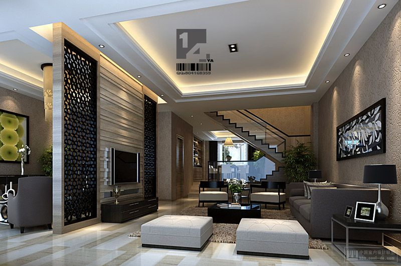 Modern chinese interior design - Contemporary living room style ...