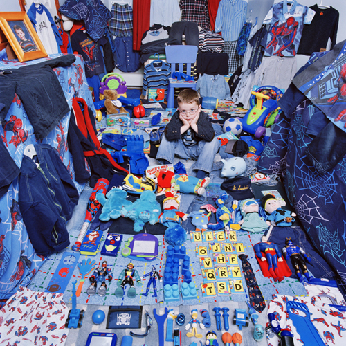blue boy room