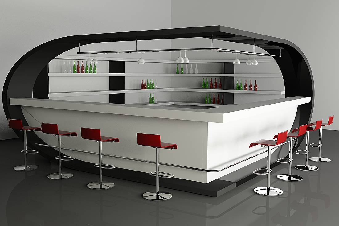 Home bar design ideas for Modern lounge designs